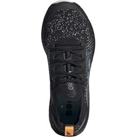 adidas TERREX Two Ultra Parley Low Trail Running Shoes Women, core black/dash grey/blue spirit